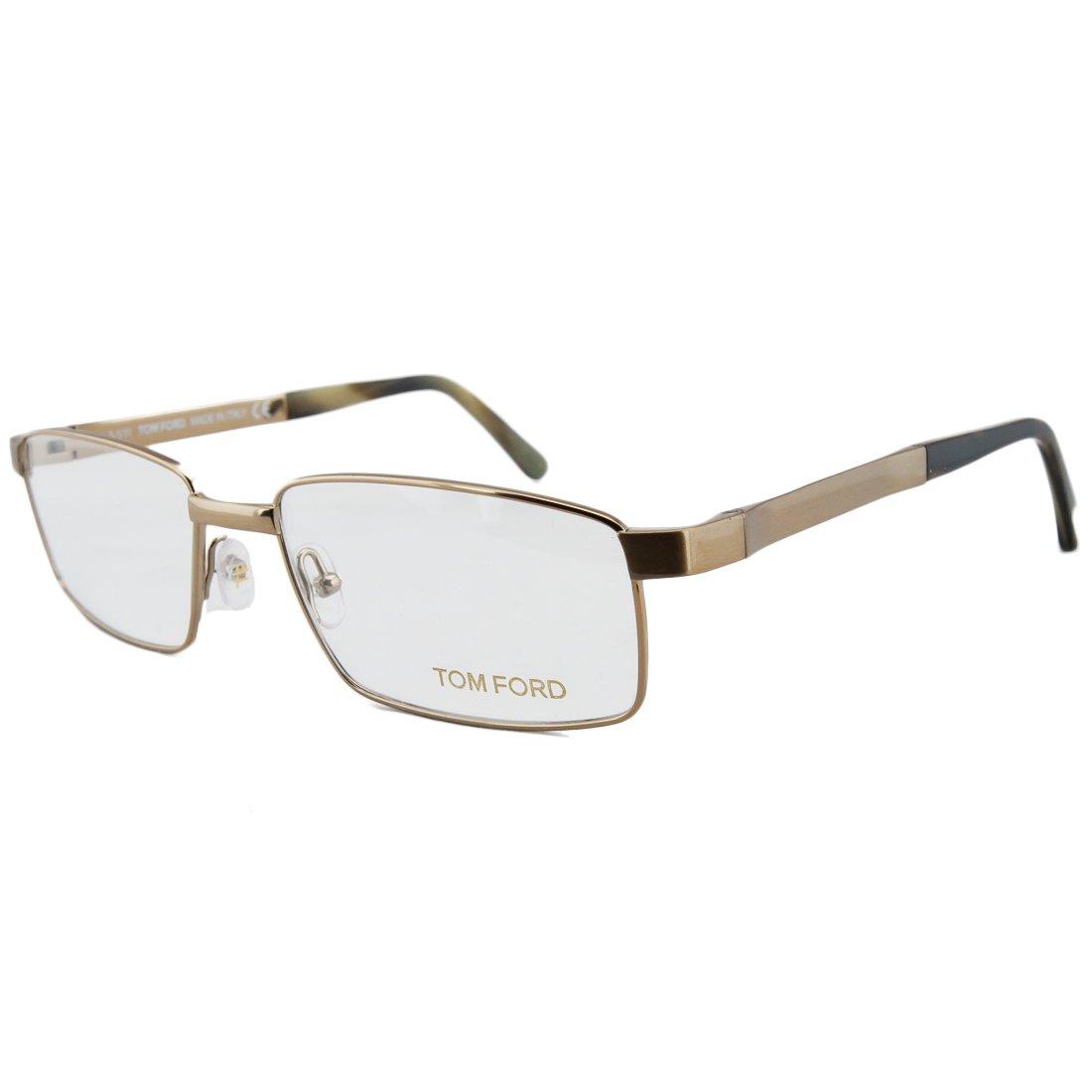 b30f6a8f47 Amazon.com  Tom Ford Glasses Frames 5205 028 Gold Havana  Clothing
