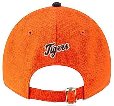 New Era 2019 MLB Detroit Tigers Baseball Cap Hat Road Bat Practice 9Twenty Orange/Black
