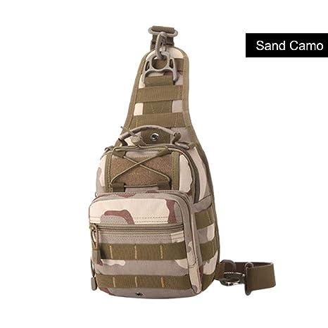 Amazon.com: Shaoshaos - Bolso bandolera de camuflaje para ...