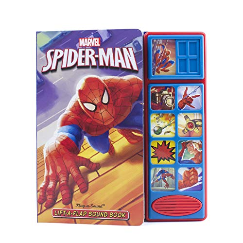 Marvel - Spider-man Lift-the-Flap Sound Book - PI Kids