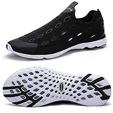 Men and Women's Quick-Drying Slip on Aqua Water Shoes