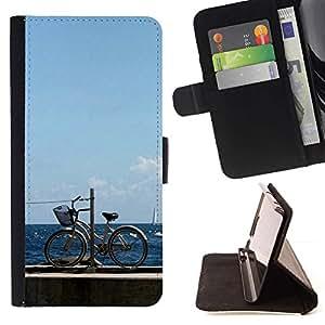 For Sony Xperia Z3 Compact / Z3 Mini (Not Z3) Case , Naturaleza Hermosa Forrest Verde 113- la tarjeta de Crédito Slots PU Funda de cuero Monedero caso cubierta de piel