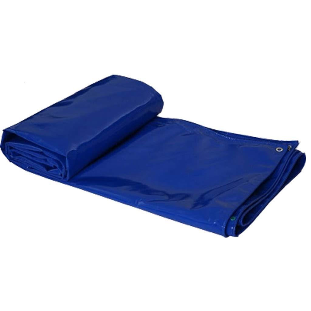 ブルーPVC防水タフ、ターポリンカバー強化リップストップ、ヘビーデューティーPVCターポリン、複数サイズの大きなターポリン (サイズ さいず : 3 * 5m) 3*5m  B07HKC5M4W