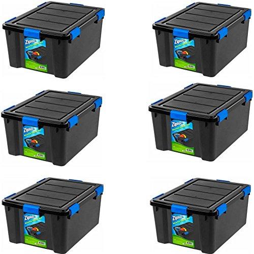 Container Store Storage Boxes Iris 46 Quart Weathertight