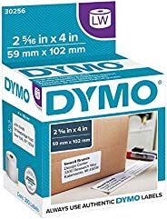 """DYMO Authentic LW Large Shipping Labels 