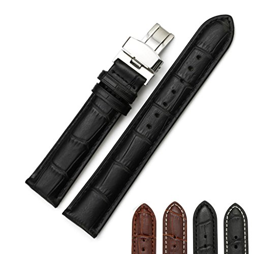 iStrap Leather Alligator Replacement Deployment