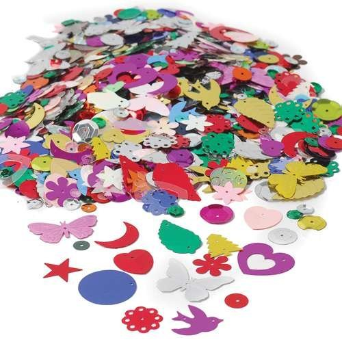 Sequins and Spangles Craft - Craft Supplies