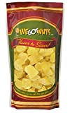 We Got Nuts Dried Pineapple Chunks | Freshly Packed Pineapple In A Perfectly Sealed Bag | Healthy Snack Full Of Vitamins, Minerals, Antioxidants, Fibers & Enzymes | Kosher Certified Dried Fruit (2lb)