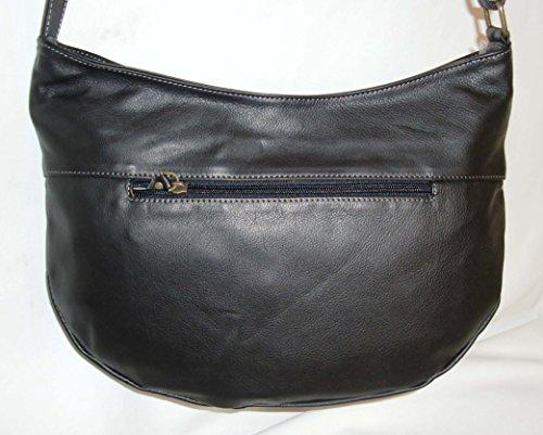 Katana porté réf sac CADEAU SURPRISE 81206 Noir travers en cuir RPRrOq4wA