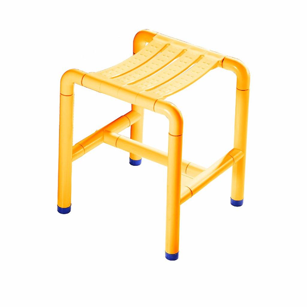 暮らし健康ネット館 バスルームスツールステンレススチールバススツール高齢者、障害者安全バリアフリーシートノンスリップスツールシャワーチェア (色 (色 : 1) 1 1 : B07DTZ62WJ, カスタムワークウェア:adf4f542 --- brazsoy.com.br