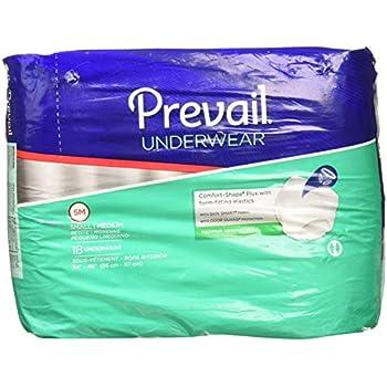 Prevail Maximum Absorbency Underwear, Small/Medium, Pack/18