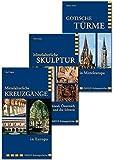 Kreuzgänge / Skulptur / Türme: Buchpaket Imhof-Kulturgeschichte