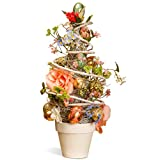 National Tree 20 Inch Easter Egg Tree with Assorted Flowers and Eggs (RAE-TR030056A)