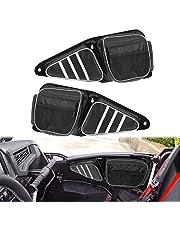 HDBUBALUS Side Door Bags UTV Front Door Storage Bag with Knee Pad Fit for Polaris RZR XP 1000 900XC S900 2014-2019