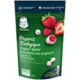 GERBER Organic Yogurt Melts Red Berry Toddler Snack 28 g, 7 x 28 g (Pack of 7)