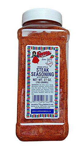 Bolner's Fiesta Texas Style Steak Seasoning w/ Tenderizer 27oz (Meat Steak)