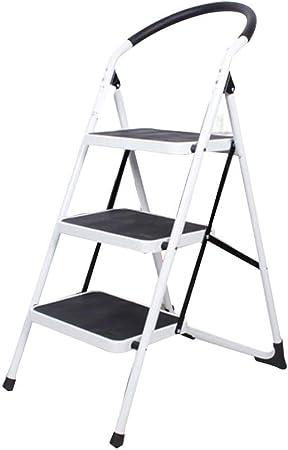 XSJZ Taburete Plegable para Escalones, Mini Pedestal Ensanchado Escalera Plegable Engrosamiento Escaleras Mecánicas Escaleras de Escalada Adecuadas para Escaleras Domésticas Escalera Interior Pequeña: Amazon.es: Hogar