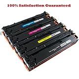 4PK HP CB540A/CB541A/CB542A/CB543A New Compatible Toner Cartridges for HP Colour Laser Jet CP1215/CP1515n/CP1518/CM1312 series