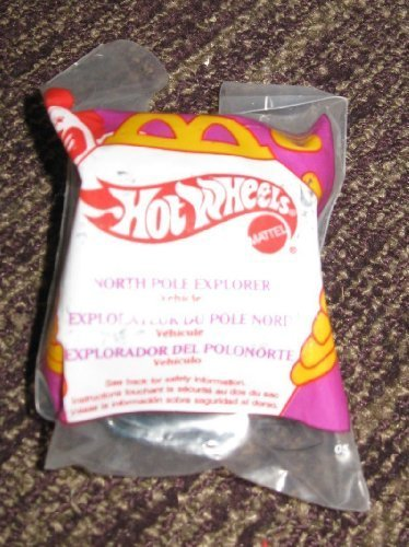 1995 Hot Wheels Mcdonalds Happy Meal Toy Car North Pole Explorer #6 by McDonalds