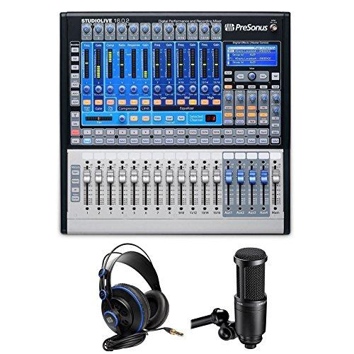 PreSonus STUDIOLIVE 16.0.2 Recording Mixer+Monitoring Hea...