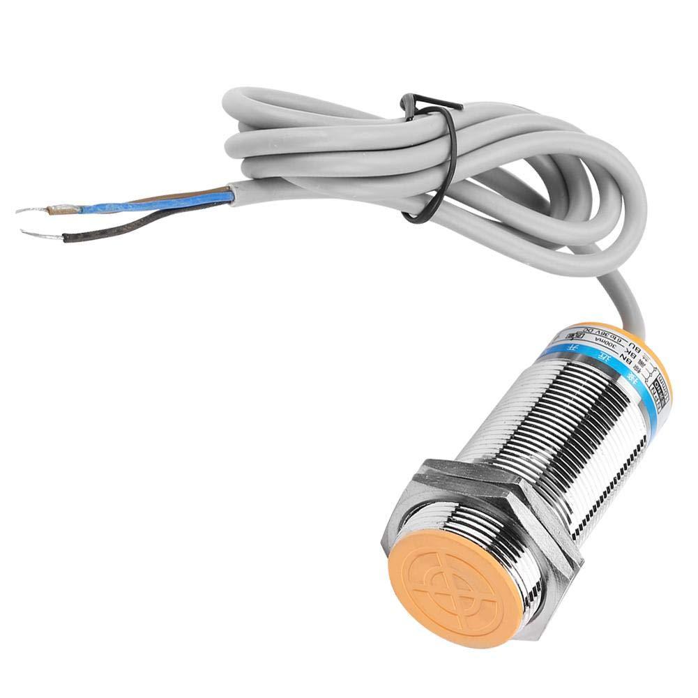 NO M30 rund 12-24 VDC 3-Draht NPN 10 mm Sensor CE normalerweise offen geschirmt Heschen Induktiver N/äherungssensor PR30-10DN zylindrisch