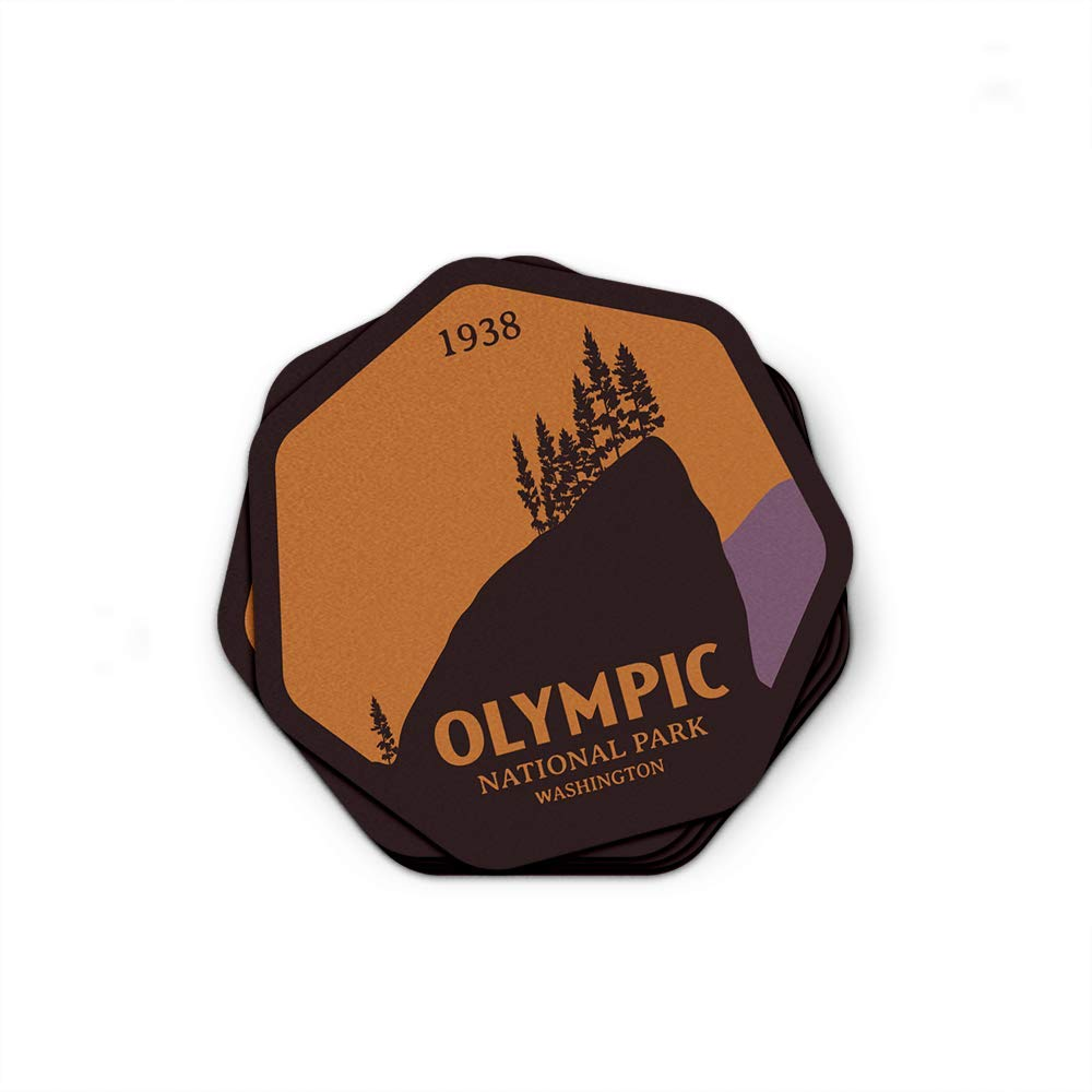 Olympic National Park Sticker 3/""