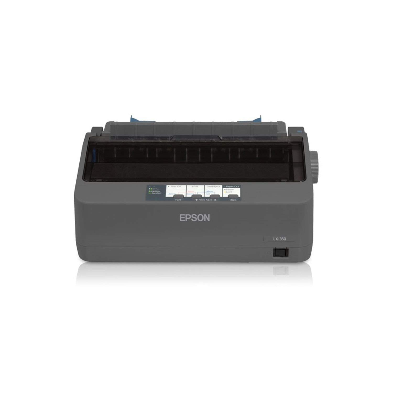 Epson C11CC24001 LX-350 Dot Matrix Printer - 9 pin - Up to 347 char/sec - Parallel/Serial/USB - (Renewed)