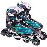 Patins Rollers Inline Mormaii Flexxxa Pro Verde Nº41-374300