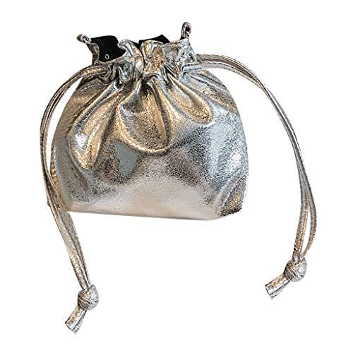 Donna Elegante Crossbody Da Piccola Clutch Borsette Tote E Zaino Silve  Quilted Bag Tracolla Hand Pochette Polso Moda Borsa 1qwYO 368cb9a8acb