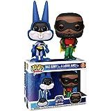 Funko Pop Movies: Bugs Bunny As Batman & Lebron James As Robin 2 Pack Space Jam Exclusivo