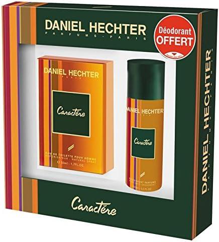 Daniel Hechter - Estuche Caractere para hombre con 2 productos: colonia 50 ml, desodorante 150 ml: Amazon.es: Belleza