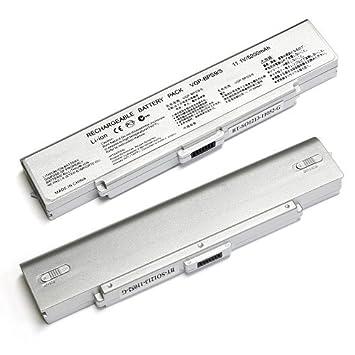 DNX Patines/batería compatible para ordenador PC portátil Sony VAIO VGN-AR520E, 11.1 V 5200 mAh, note-x: Amazon.es: Informática
