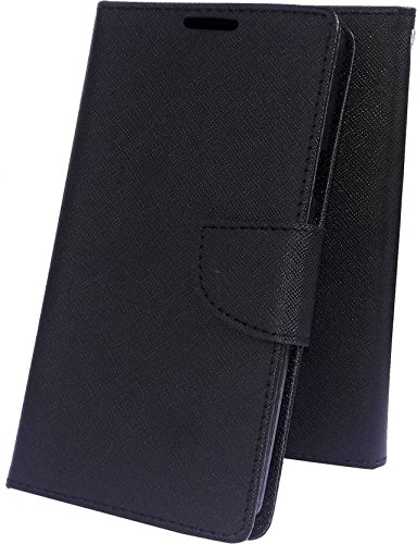 finest selection 41902 93641 CEDO Luxury Mercury Magnetic Lock Diary Wallet Style Flip Cover Case for  Oppo A57 (Black)