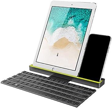 ChaRLes Rock Enrollable Teclado Bluetooth para iPhone iPad ...