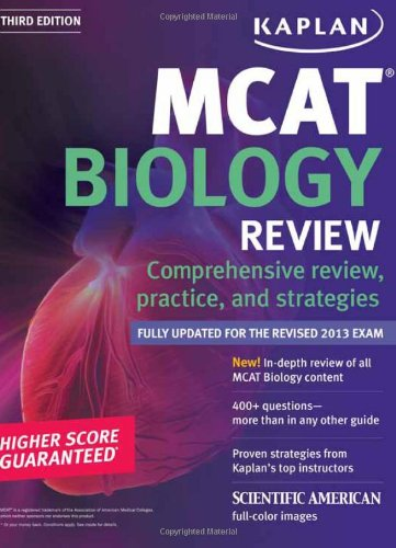Kaplan MCAT Biology Review Notes (Kaplan Test Prep)