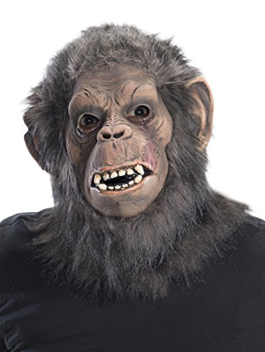 [Rubie's Costume Men's Dawn Of The Planet Of The Apes Adult Deluxe Koba Mask, Multi, One Size] (Planet Of The Apes Costumes)