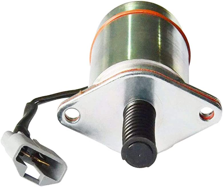 8923206 Heavy Duty Stop Solenoid Fits for Trombetta 12V Detroit 8.2L Diesel Replacement# D513-A30 DB Electrical Pull Solenoid