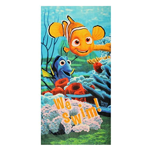 Brand New Disney Finding Dory Finding Nemo Bath Beach Childrens Towel by Disney ENVI