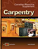 Carpentry with Canadian Resource Supplement, Koel and Koel, Leonard, 0826908071