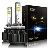 CougarMotor LED Headlight Bulbs Conversion Kit - 880 881 (893, 899) -7,200Lm 6000K Cool White CREE - 3 Yr Warranty