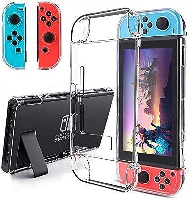 Funda para Nintendo Switch, Achort JoyCon Protectores de Cubierta ...