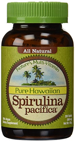Hawaiian Spirulina 500mg 200 Tablets