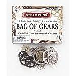 Forum Novelties Men's Steampunk Victorian Bag Of Gears Costume Accessory 5