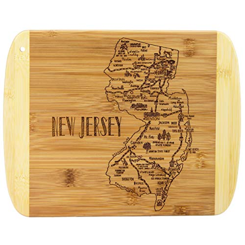 - Totally Bamboo A Slice of Life New Jersey Bamboo Serving and Cutting Board