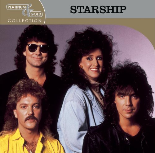 CD : Starship - Platinum and Gold Collection (CD)