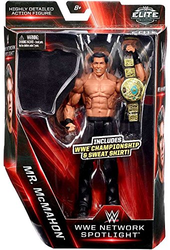 WWE Elite Collection WWE Network Spotlight Mr. McMahon (Vince) Exclusive Action Figure 7 Inches (Wwe Action Figure Mr Mcmahon)