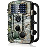 ENKEEO PH730S Trail Camera 1080P 12MP HD Wildlife Game Hunting Cam with 42PCS 850NM IR LEDs Night Vision, 0.2s Trigger Time, 2.4 LCD Screen, Time Lapse, 65ft Range and IP54 Water Resistant