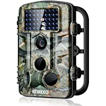 "ENKEEO PH730S Trail Camera 1080P 12MP HD Wildlife Game Hunting Cam with 42PCS 850NM IR LEDs Night Vision, 0.2s Trigger Time, 2.4"" LCD Screen, Time Lapse, 65ft Range and IP54 Water Resistant"