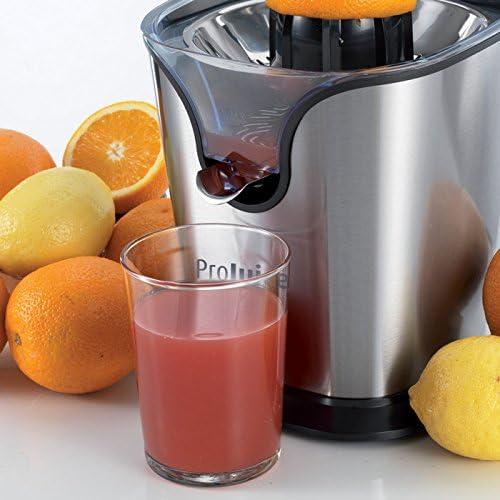 Ariete Exprimidor projuice, 2 conos para naranja y limón, mango de ...