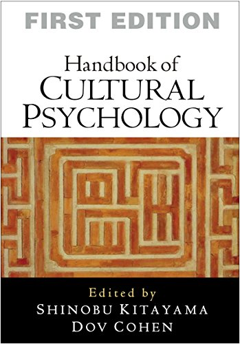 Handbook of Cultural Psychology, First Edition ()
